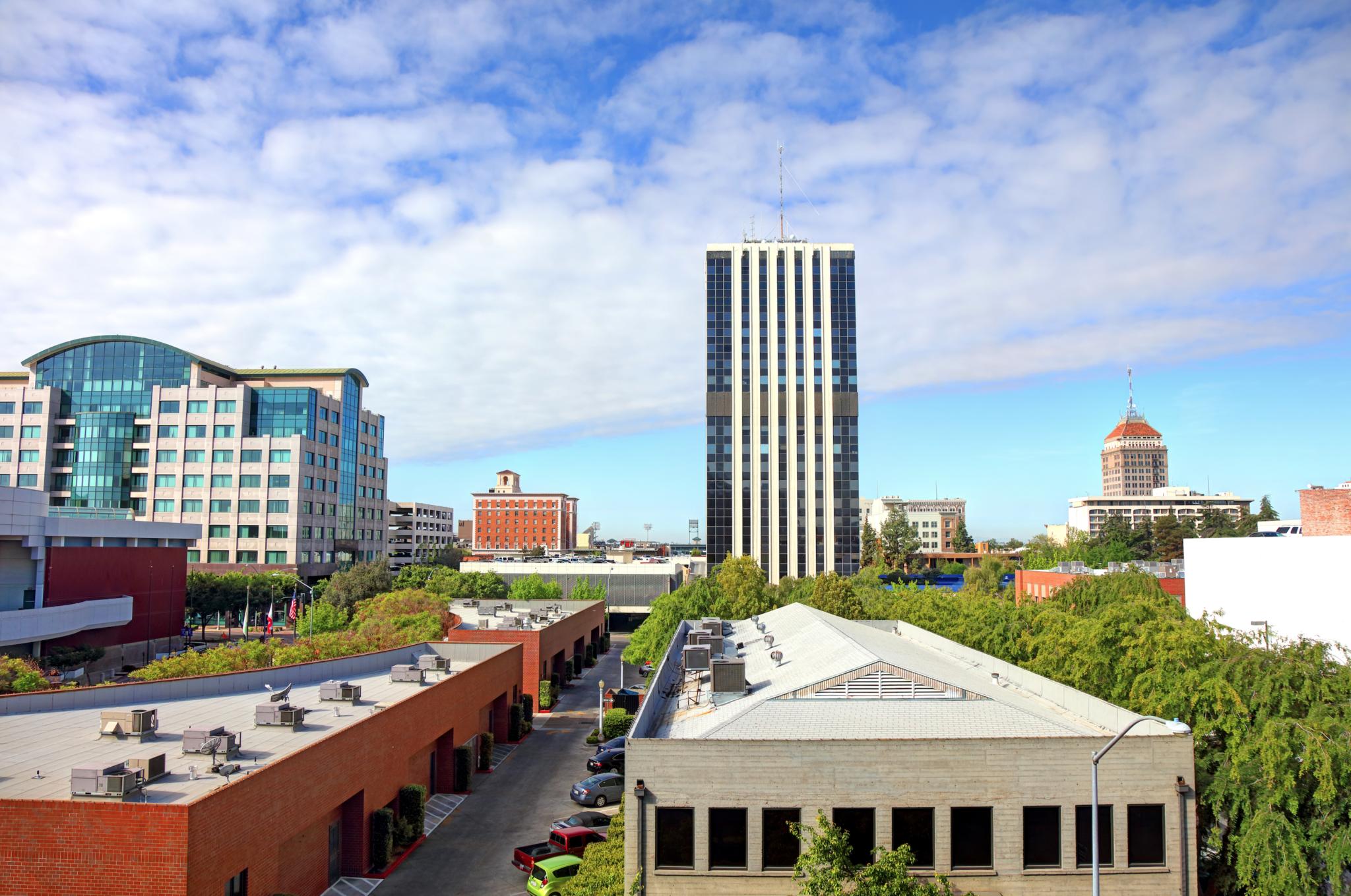 Central California Fresno City Image